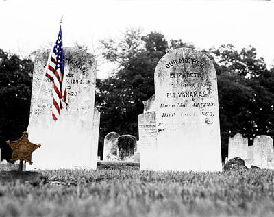 Photograph - Civil War Veteran by Jan W Faul