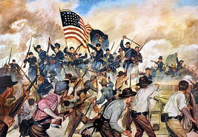 Civil War: Vicksburg, 1863 Print by Granger