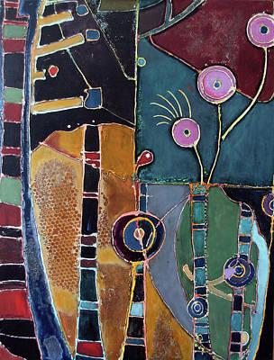 Subterranean Painting - Civitatis by Lory MacDonald