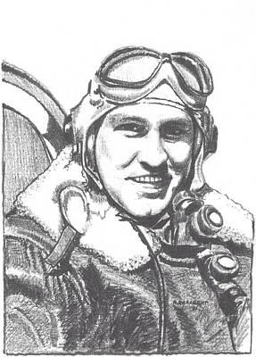 Cj Rosbert Avg Flying Tiger Art Print