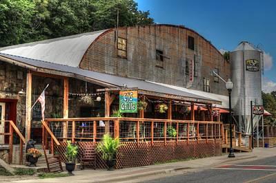 Photograph - Cj's And Nantahala Brewing Company In Bryson City North Carolina by Carol Montoya