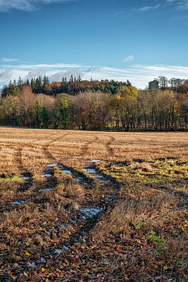 Photograph - Clackmannan Tower In Central Scotland by Jeremy Lavender Photography