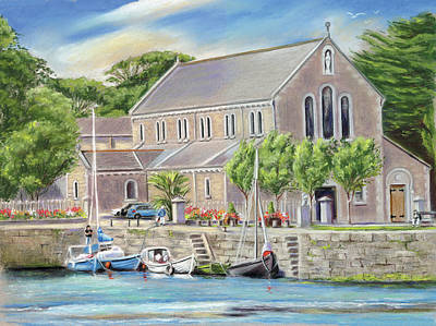 Painting - Claddagh Church Galway by Irish Art