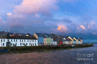 Photograph - Claddagh Quay by Andrew Michael