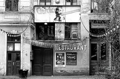 Photograph - Claerchen's Ballhaus by John Rizzuto