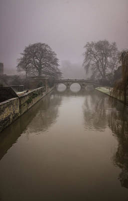 Photograph - Claire College Bridge by David Warrington