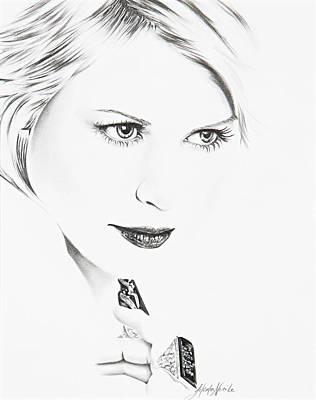 Claire Danes Art Print