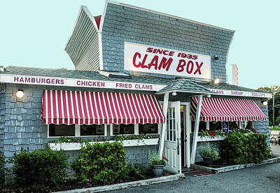Photograph - Clam Box by Caroline Stella