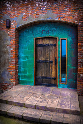 Photograph - Clam Cannery Door by Ronda Broatch