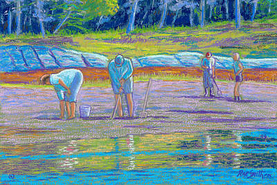 Clam Diggers Art Print by Rae  Smith  PSC