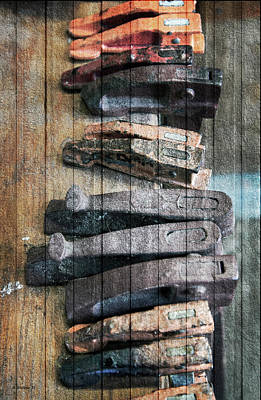 Photograph - Clamping Tools by Brian Wallace