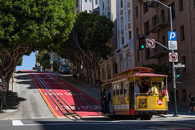 Clang Clang Goes The Cable Car Art Print