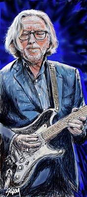 Digital Art - Clapton 2 by Stan Kwong