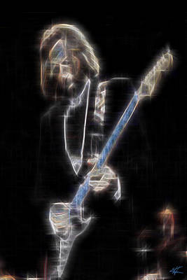 Digital Art - Clapton by Kenneth Armand Johnson