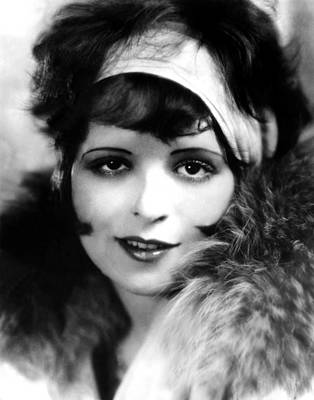 Publicity Shot Photograph - Clara Bow, Ca 1927 by Everett