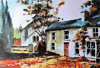 Painting - Clara Vale, Wicklow. by Val Byrne