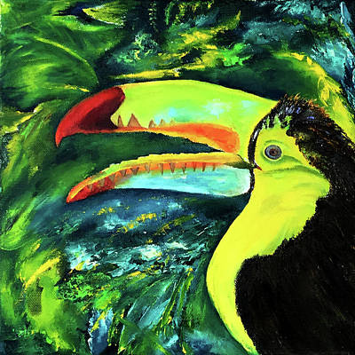 Painting - Clara's Toucan by Terry R MacDonald