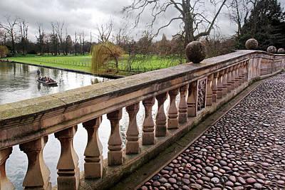 Photograph - Clare College Bridge Cambridge by Gill Billington