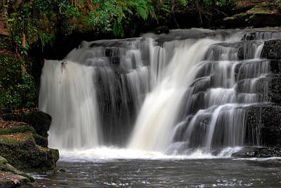 Autumn Photograph - Clare Glens Waterfall by Pierre Leclerc Photography