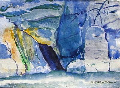 Painting - Clare Island Coast by Kathleen Barnes
