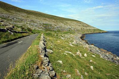 Fanore Photograph - Clare Road by John Quinn