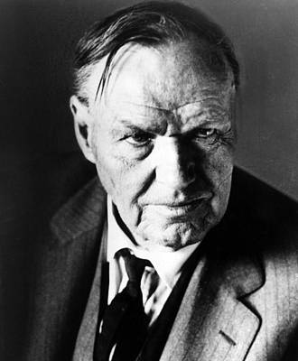 Ev-in Photograph - Clarence Darrow, Circa 1930s by Everett