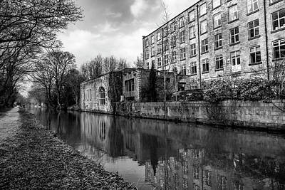 Photograph - Clarence Mill, Bollington, England by Mickey Stellavato
