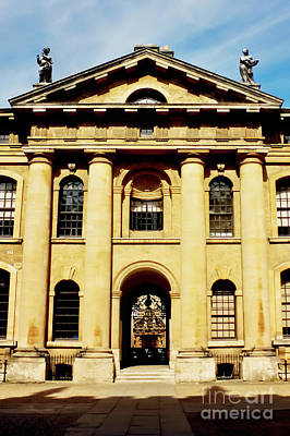 Photograph - Clarendon Building, Broad Street, Oxford by Terri Waters