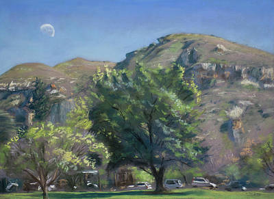 Pastel - Clarens Square by Christopher Reid