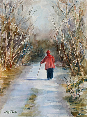 Clare's Lane Art Print by Mary Benke