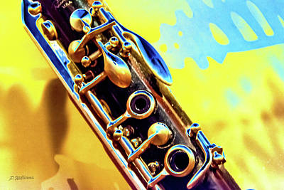 Photograph - Clarinet by Pamela Williams