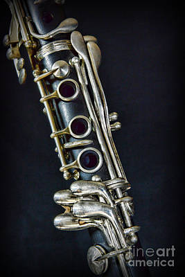 Woodwind Photograph - Clarinet by Paul Ward