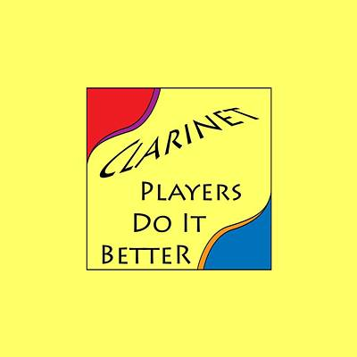 Photograph - Clarinet Players Do It Better 5640.02 by M K Miller