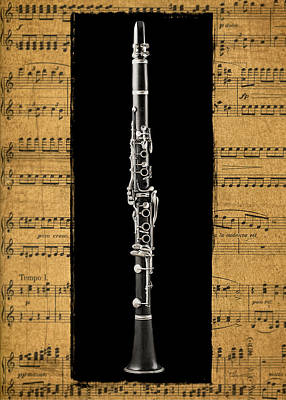 Dining-room Photograph - Clarinet Version 2 by Patrick Chuprina