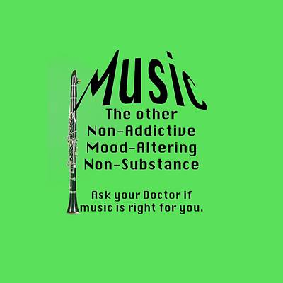 Photograph - Clarinets Music Is Right For You 5492.02 by M K Miller