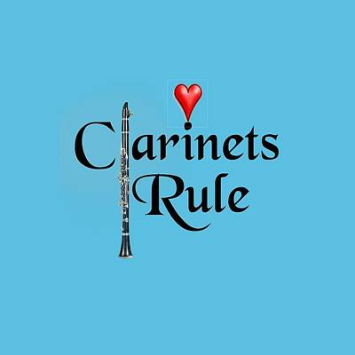 Photograph - Clarinets Rule by M K Miller