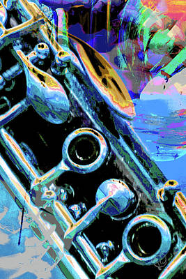 Photograph - Clarinet Keys by Pamela Williams