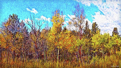 Digital Art - Clarity Of An Autumn Afternoon by Joel Bruce Wallach