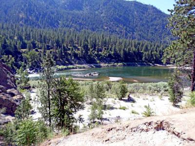 Photograph - Clark Fork River Missoula Montana by Kay Novy