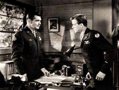 Photograph - Clark Gable Appearing In Command Decision by R Muirhead Art