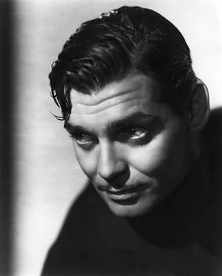Photograph - Clark Gable by R Muirhead Art