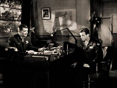 Photograph - Clark Gable Staring In Command Decision by R Muirhead Art
