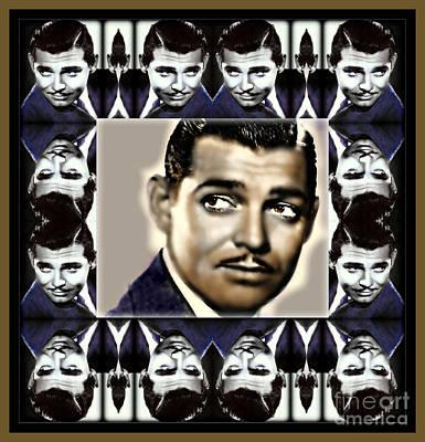 Clark Gable Art Print by Wbk