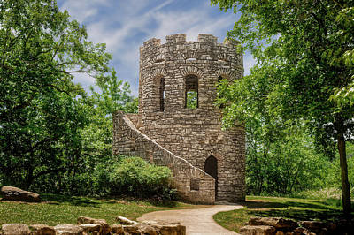 Photograph - Clark Tower  -  Winterset Iowa  -  001 by Frank J Benz