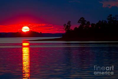 Clarks Hill Lake Photograph - Clarks Hill Lake by Steven Dillon