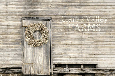 Photograph - Clarks Valley Farms by Lori Deiter