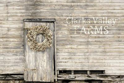 Photograph - Clarks Valley Farms by Lori Deiter