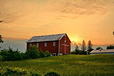 Photograph - Clarksville Barn 3 by Bonfire Photography