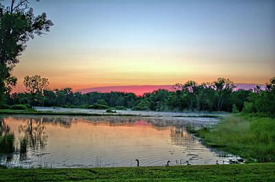 Photograph - Clarksville Pond by Bonfire Photography