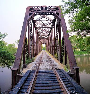 Photograph - Clarksville Trestle by Bonfire Photography